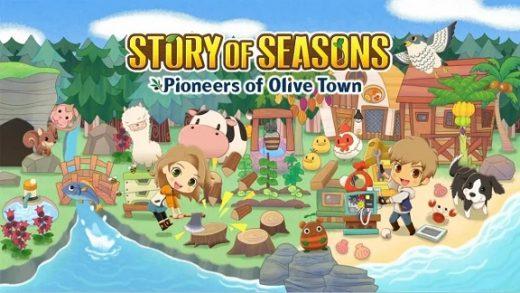 牧场物语:橄榄镇与希望的大地 STORY OF SEASONS: Pioneers of Olive Town