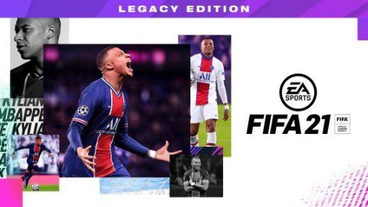 FIFA21 遗产版 FIFA 21 Nintendo Switch™ Legacy Edition