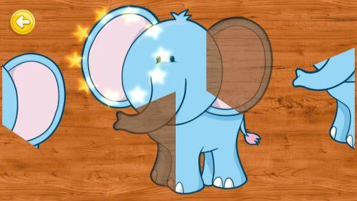 婴幼儿动物学习拼图/Animal Learning Puzzle for Toddlers and Kids