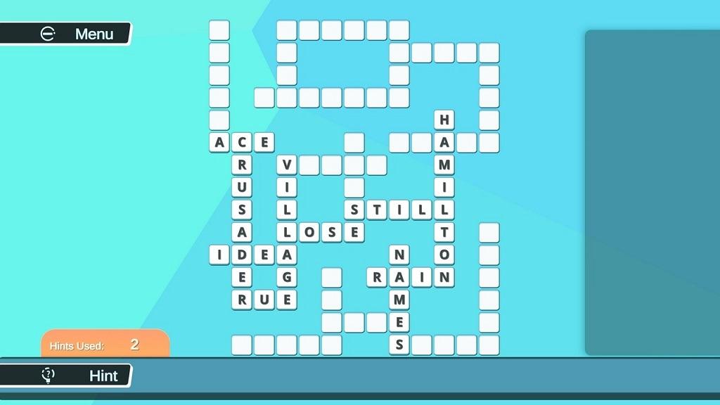 #1填字游戏/#1 Crosswords