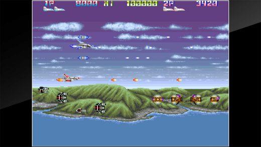 街机博物馆:雷霆战机2 Arcade Archives THUNDER CROSS II