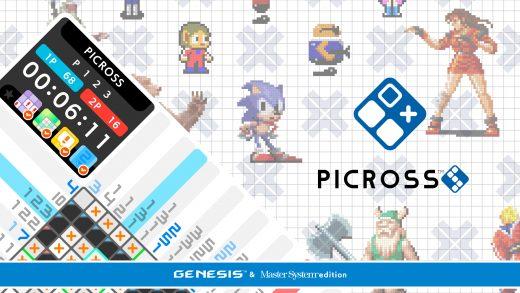 绘图方块S 世嘉版 PICROSS S GENESIS & Master System edition