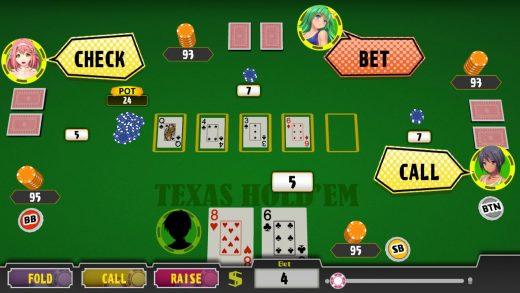 扑克美女:德州扑克 Poker Pretty Girls Battle: Texas Hold'em