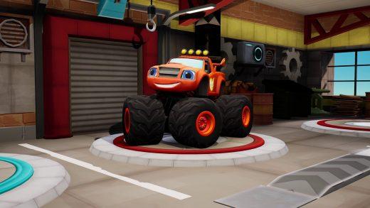 怪物烈焰战车队 城市赛车手 Blaze and the Monster Machines: Axle City Racers