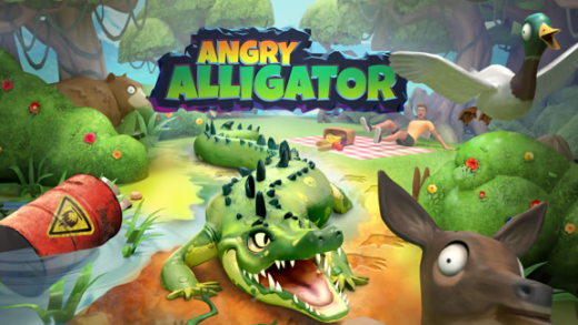 愤怒鳄鱼 Angry Alligator
