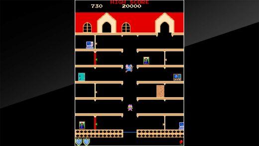 街机档案馆:马皮 Arcade Archives MAPPY