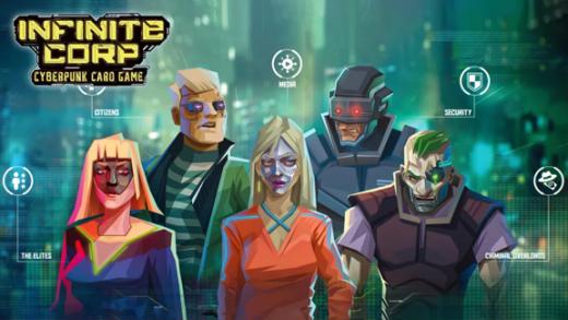 无限公司:赛博朋克纸牌游戏 InfiniteCorp: Cyberpunk Card Game